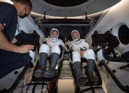 """فضانوردان ناسا با کپسول """"دراگن"""" به زمین باز گشتند"""