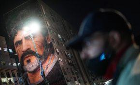 جهان در سوگ مارادونا؛ از آرژانتین تا ناپل/عکس