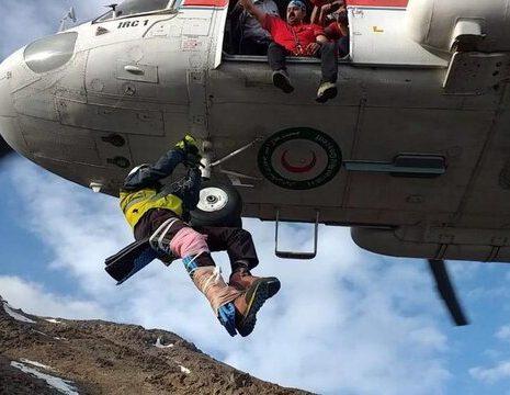 جستجو همچنان برای یافتن کوهنورد مفقودی در دماوند ادامه دارد